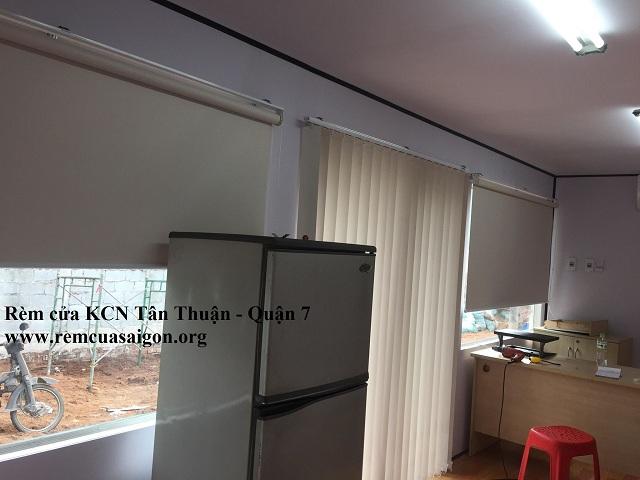 Rèm lá dọc KCX Tân Thuận