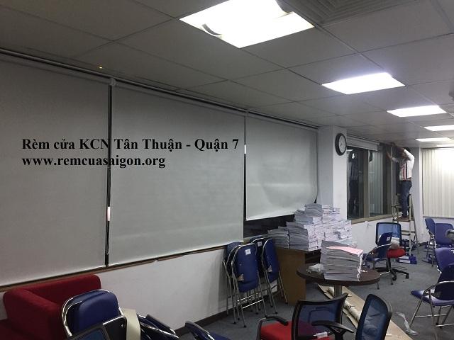 Rèm văn phòng khu chế xuất Tân Thuận