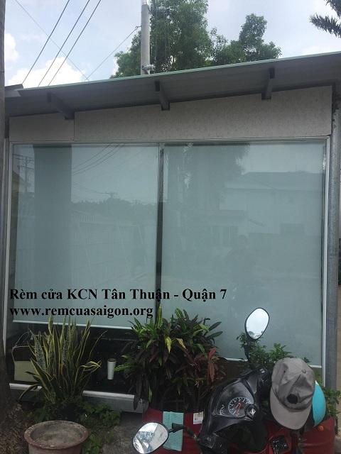 Rèm cuốn KCN Tân Tạo