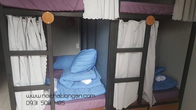 Rèm giường tầng KTX