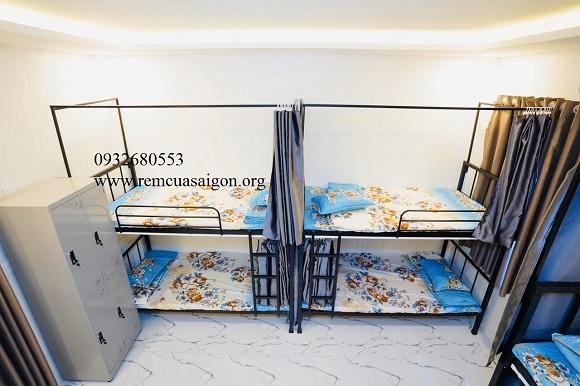Rèm giường Tầng Hoàng Hoa Thám